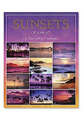 Multipack Postcards 12-pk, Sunsets *