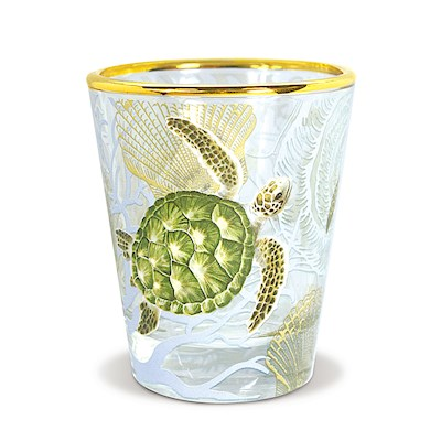 Coastal Shot Glass, Honu Voyage