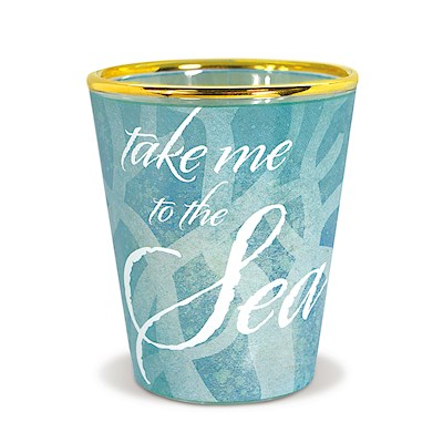 Coastal Shot Glass, Take Me to the Sea