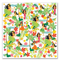 Cocktail Napkins 20-pk, Island Hula Honeys