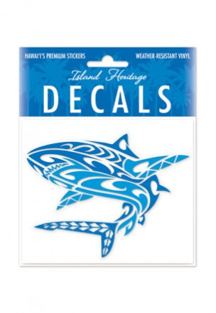 Decal Sticker Tribal Shark