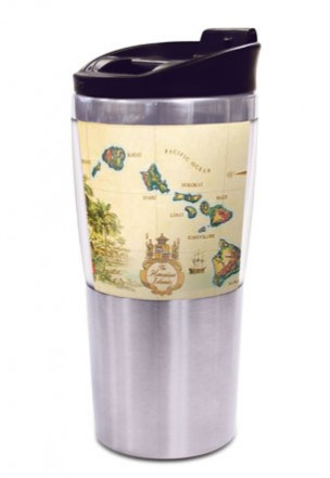 16 oz. SS Thermal Tumbler Islands of Hawaii - Tan