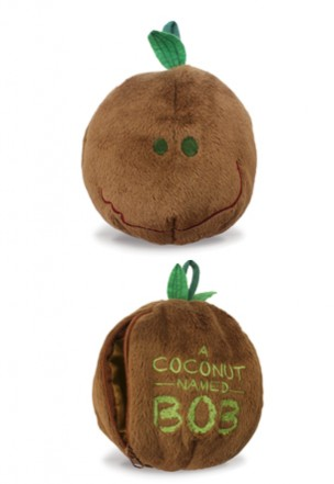 Plush,- A Coconut Named Bob -