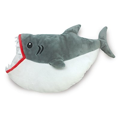 Keiki Kuddles Plush Pillow - Shark Bites!