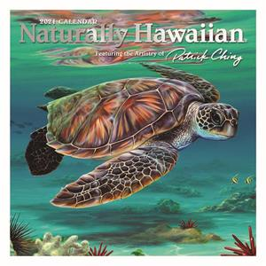 2021 Deluxe Calendar, Naturally Hawaiian