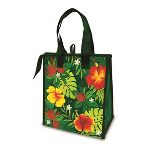 Holiday Non-Woven Bag, Floral Monstera