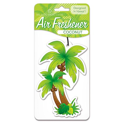 Air Freshener Palm Tree - Coconut scent