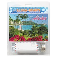 Island Aloha-Grams Puzzle 5x7 Postcard, Diamond Head