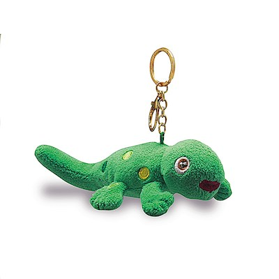 Plush Key Chain, Gecko