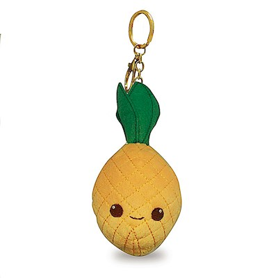 Plush Key Chain, Pineapple