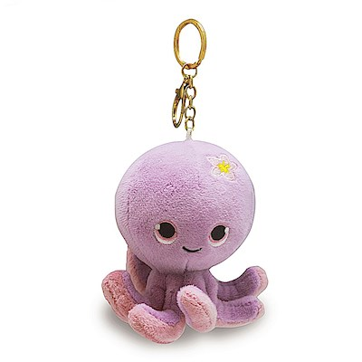 Plush Key Chain, Tako