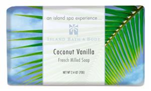 70g French-Milled Soap, Coconut Vanilla ORG