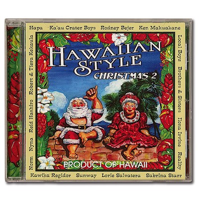 CD - Hawaiian Style Christmas 2