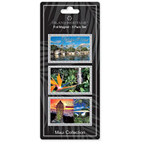 Foil Magnet 3-pk, Maui Collection *