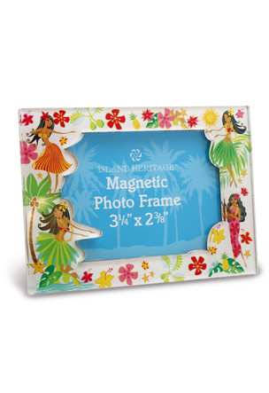 Photo Frame Magnet, Island Hula Honeys