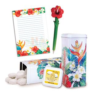 Island Garden Stationery & Tea Cookie Gift Set