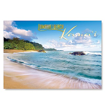 Lumaha'i Beach 4 X 6 Kauai Postcards