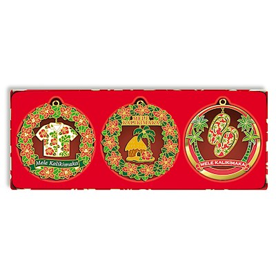 3-pk Die-Cut Ornament, Mele Times