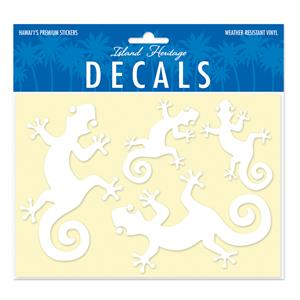 Decals Assorted 4-pk, Gecko Gang