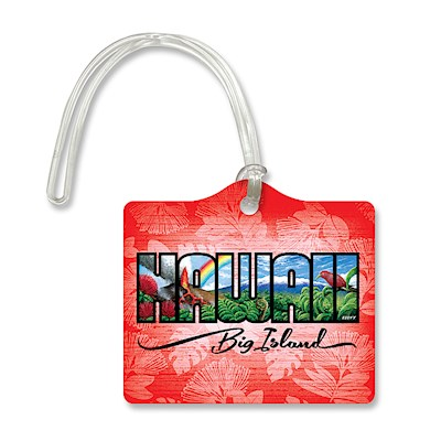 Die-Cut ID Tag, Eddy Y - Hawaii - Big Island