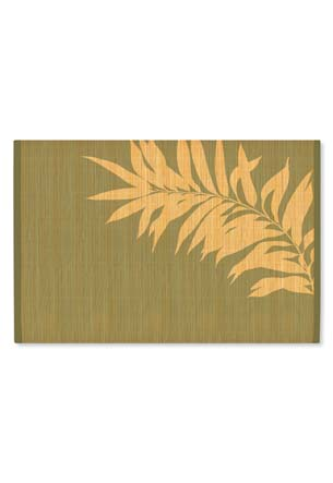Bamboo Placemat Swaying Palm