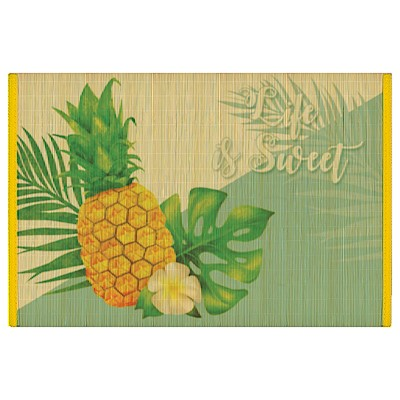 Life is Sweet Bamboo Placemat