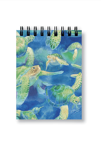 Notebook Small 50-sht, Swimming Honu
