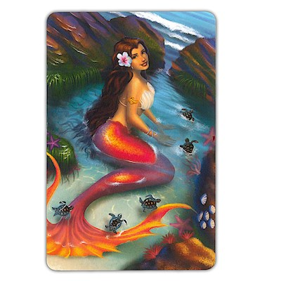 Playing Cards, Island Heritage Mermaids - Coral