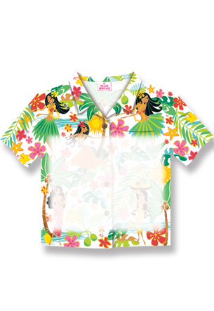 Aloha Shirt Stick'n Notes 50-sht, IHH