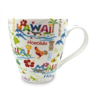 18 oz. U-shape Mug, Hawaiian Adventures