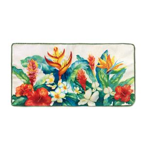 Cotton Linen 20x10 Cover, Heliconia