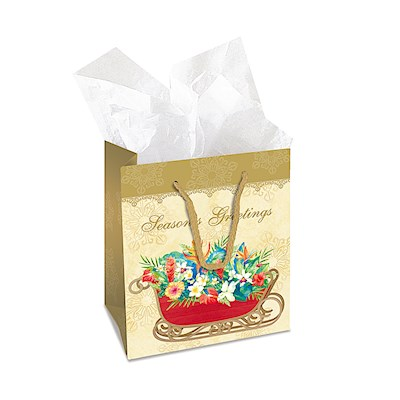 Small Gift Bag, Sleigh of Aloha
