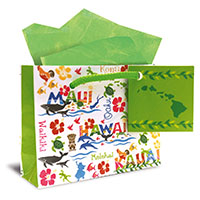 Gift Bag - Hawaiian Adventures - Mini