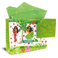 Mini Gift Bag, Island Hula Honeys (H)
