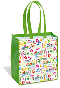 Island Tote Bag - Hawaiian Adventure