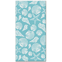 Beach Towel, Seashells