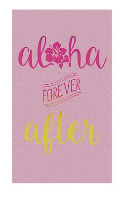 Oversized Beach Towel, Aloha Forever After