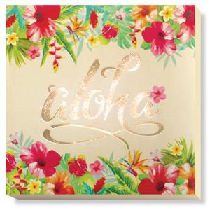 Light Box Square, Aloha Floral