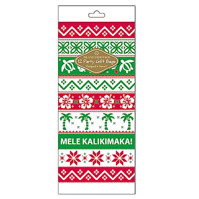 Cello Bag 12-pk SM, Island Ugly Sweater