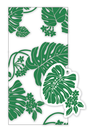 Candy Lei Kit 5-pk, Monstera Green