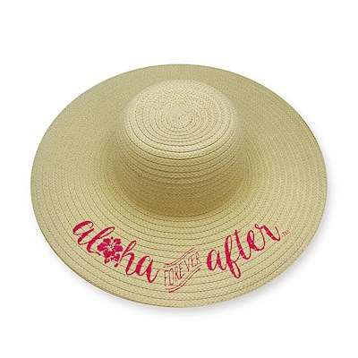Embroidered Sun Hats, Aloha Forever After