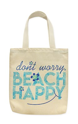 Woven Totes Beach Happy