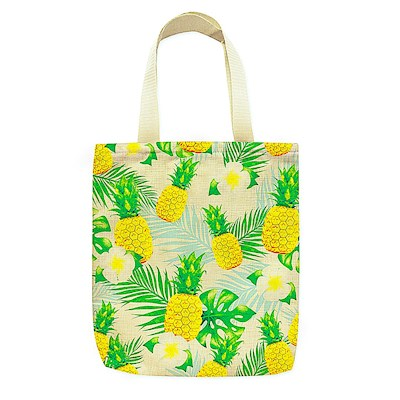 Woven Totes Life Is Sweet (Pineapple)
