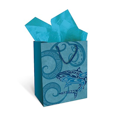 Gift Bag - Tribal Shark - Medium