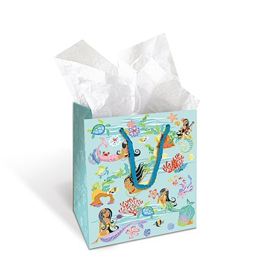 Small Gift Bag, Island Hula Mermaid