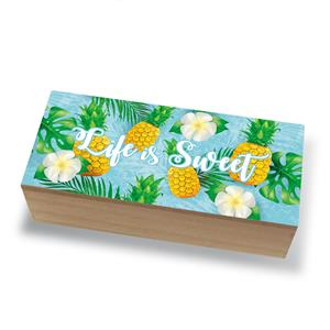 Coastal Wood Box, Life Is Sweet