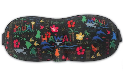Island Eye Mask, Hawaiian Adventures