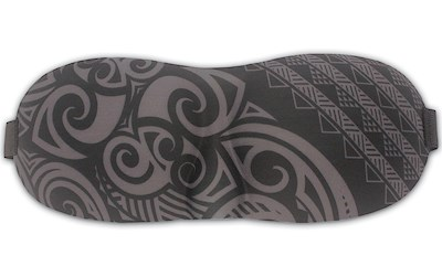 Island Eye Mask, Tribal Gray