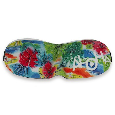 Island Eye Mask, Tropical Aloha