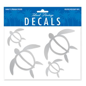 Decals Assorted 4-pk, Honu Family